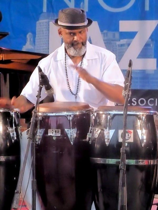 Bobby Torres — percussionist with Orquesta la Yunqueña