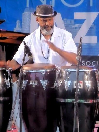 Bobby Torres — Percussionist with Orquesta la Yunqueña (OLY)