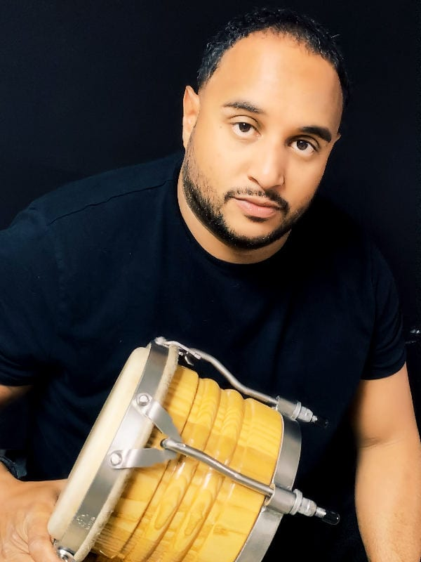 Nate Rodriguez - Founder and Percussionist for Orquestra la Yunqueña (OLY)