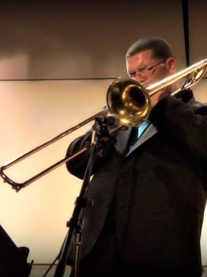 Alvaro Maldonado — Trombonist with Orquesta la Yunqueña (OLY)